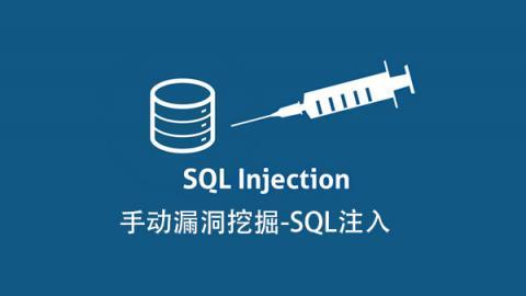 手动漏洞挖掘-SQL注入
