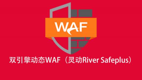 【瑞数信息】双引擎动态WAF(灵动River Safeplus)